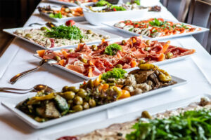 antipasto lunch office catering